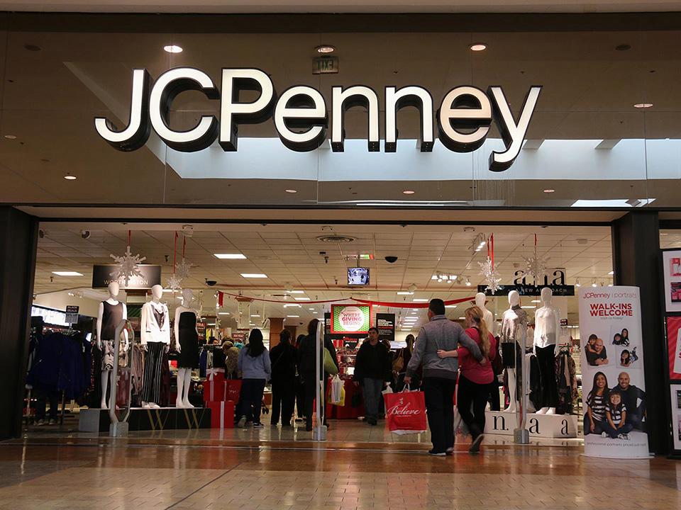 Fachadas de Lojas de Roupas JC Penney