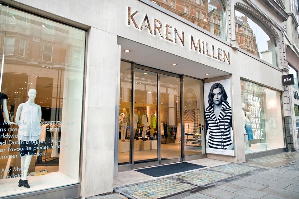 Fachadas de Lojas de Roupas Karen Millen