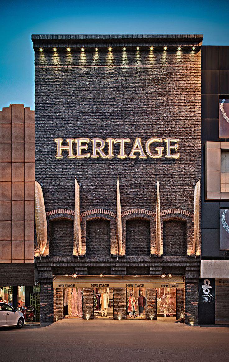 Fachadas de Lojas de Roupas Heritage