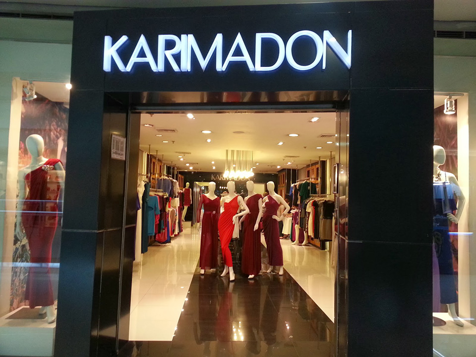 Fachadas de Lojas de Roupas Femininas Karimadon