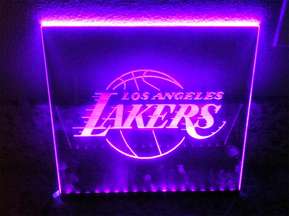 Letreiro de Led Lakers