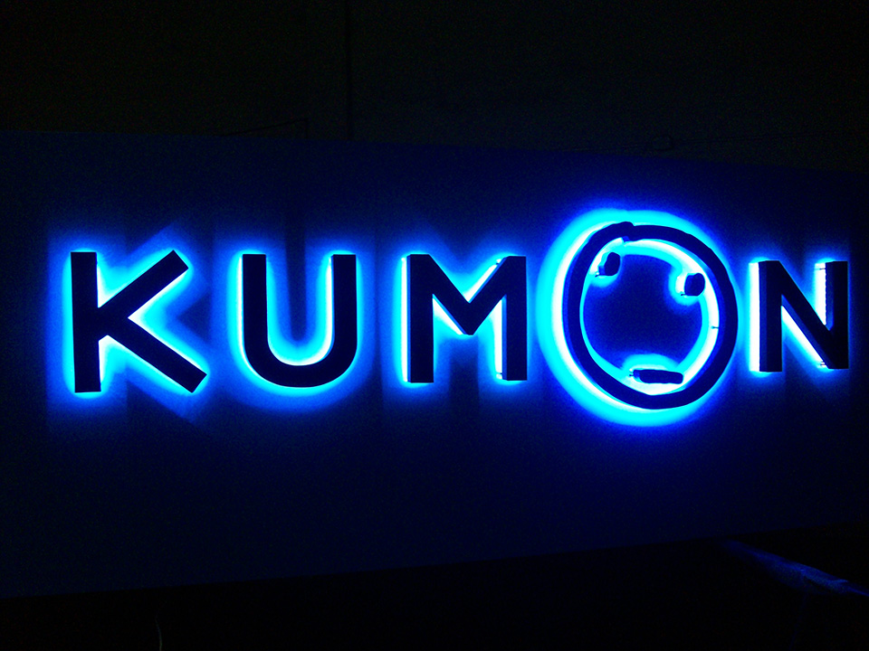 Letreiro de Led Kumon