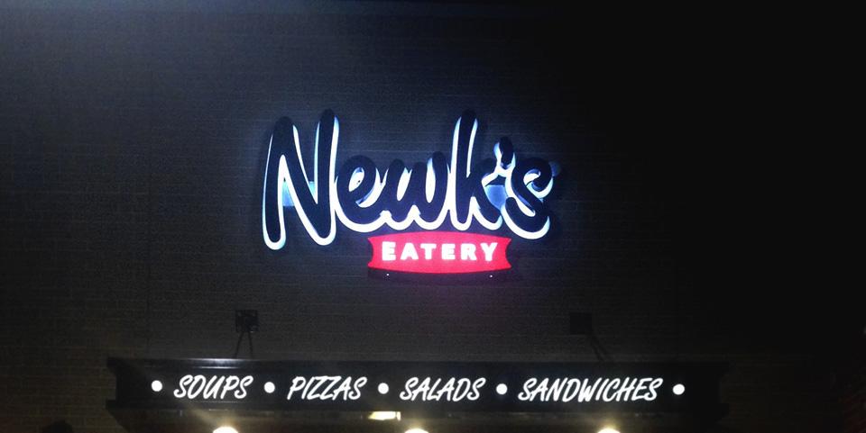 Letreiro de Led Newk's