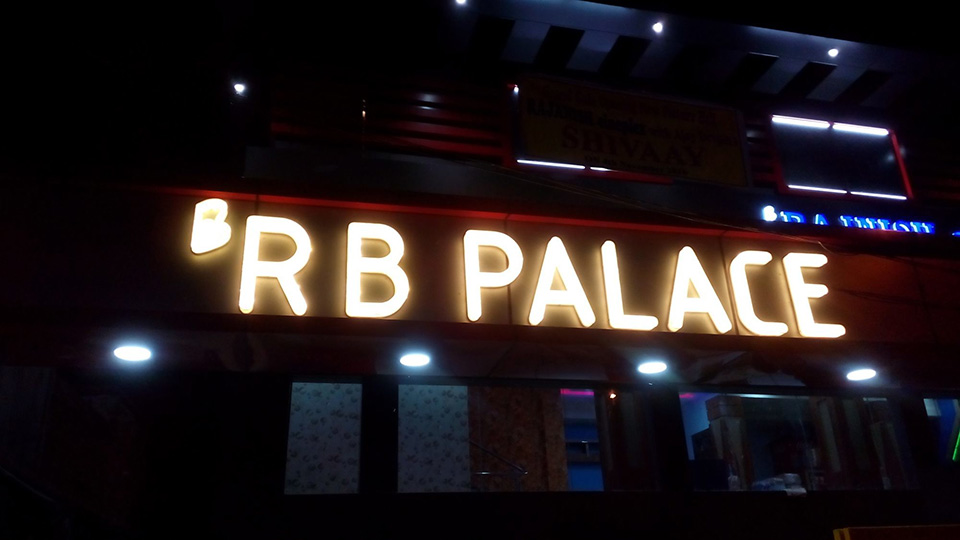 Letreiro de Led RB Palace