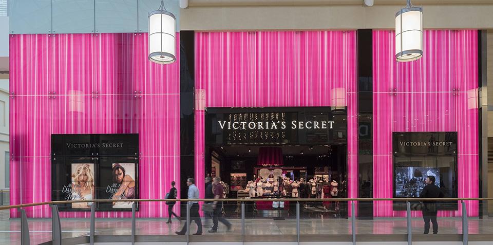 Fachada de Loja Feminina Victoria's Secret