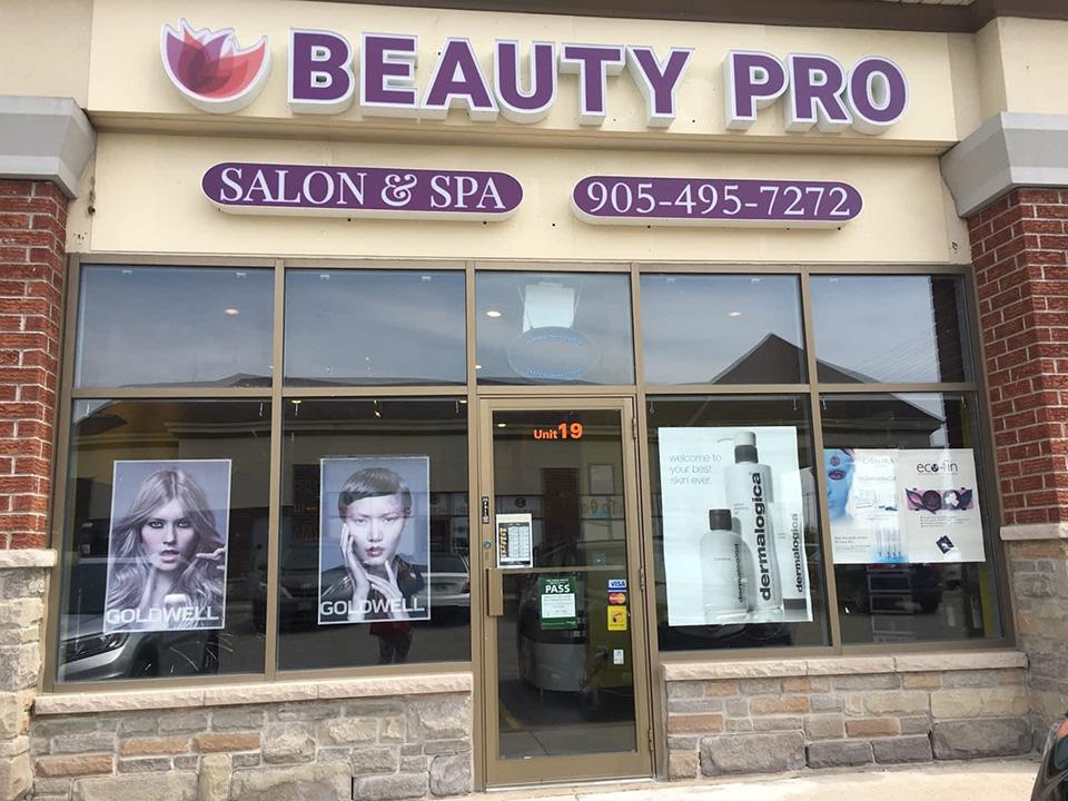 Fachada de Loja Feminina Beauty Pro