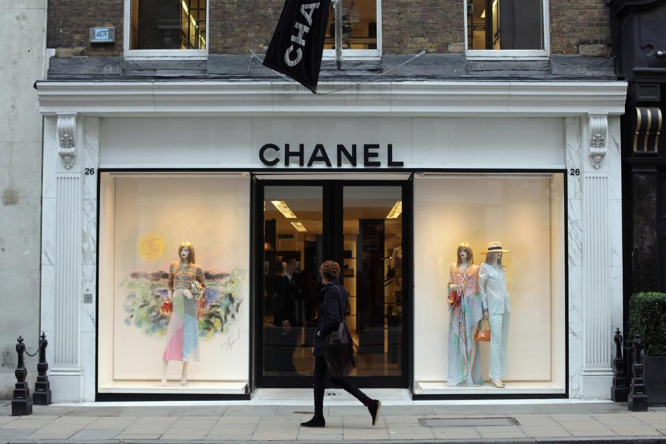 Fachada de Loja Feminina Chanel