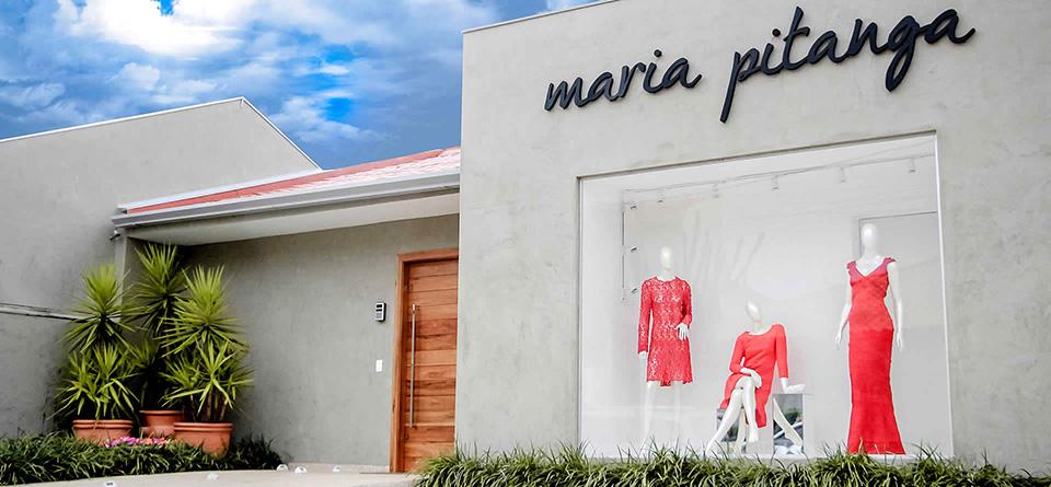 Fachadas de Lojas de Roupas Maria Pitanga