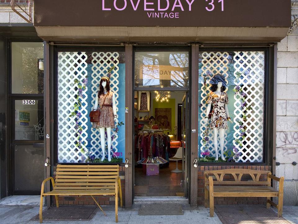 Fachadas de Lojas de Roupas Femininas Loveday 31