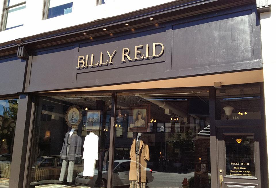 Fachadas de Lojas de Roupas Femininas Billy Reid