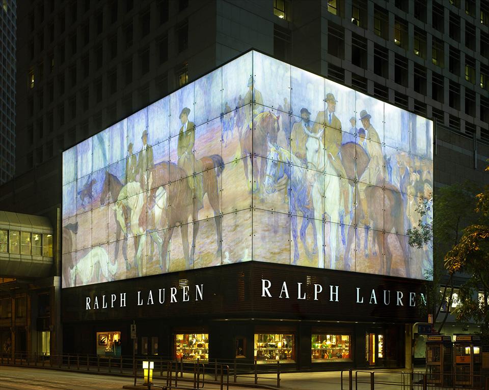 Fachadas de Lojas de Roupas Masculinas Ralph Lauren