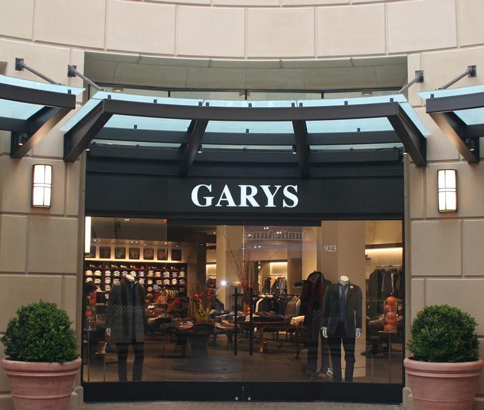 Fachadas de Lojas de Roupas Masculinas Garys