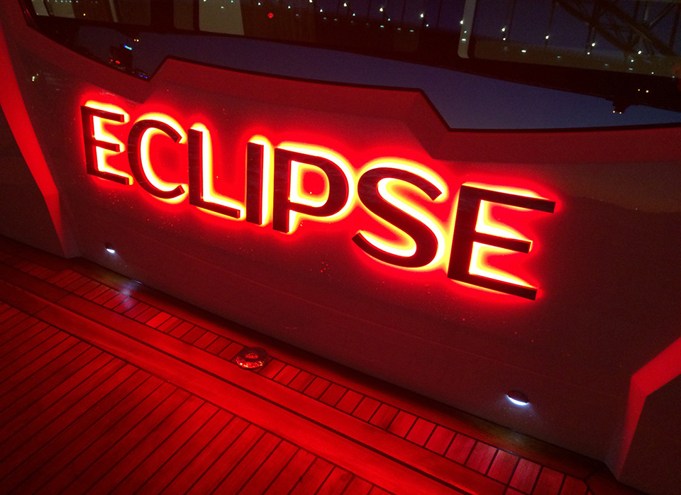 Letreiro de Led Eclipse