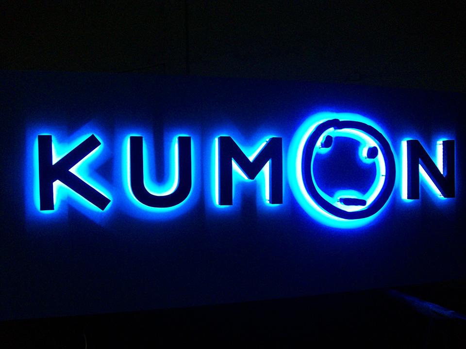 Letreiro de Led Kumon