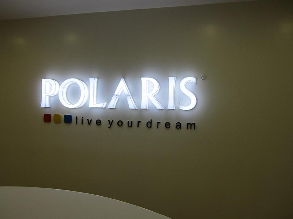 Letreiro de Led Polaris