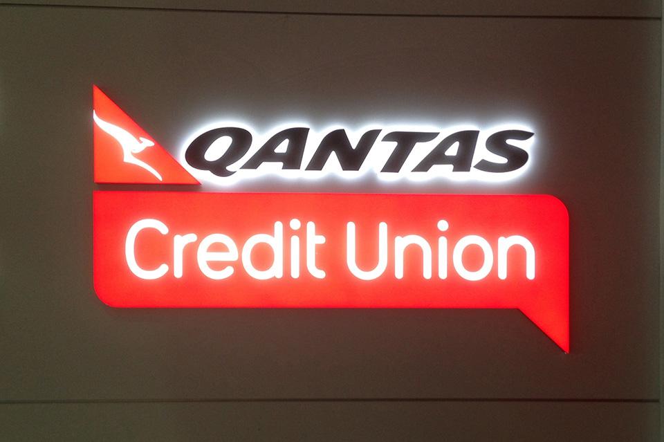 Letreiro de Led Qantas