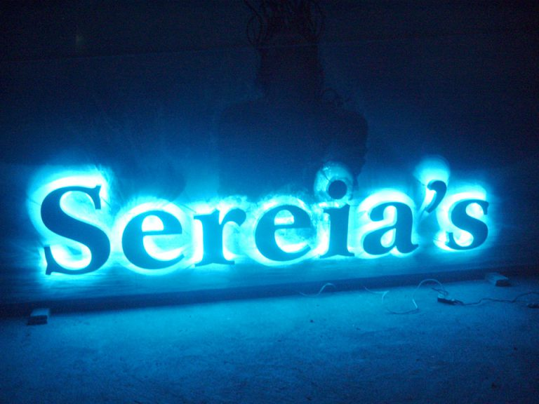 Letreiro de Led Sereias