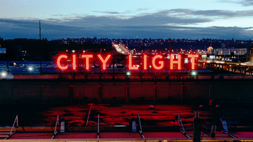 Letreiro Luminoso City