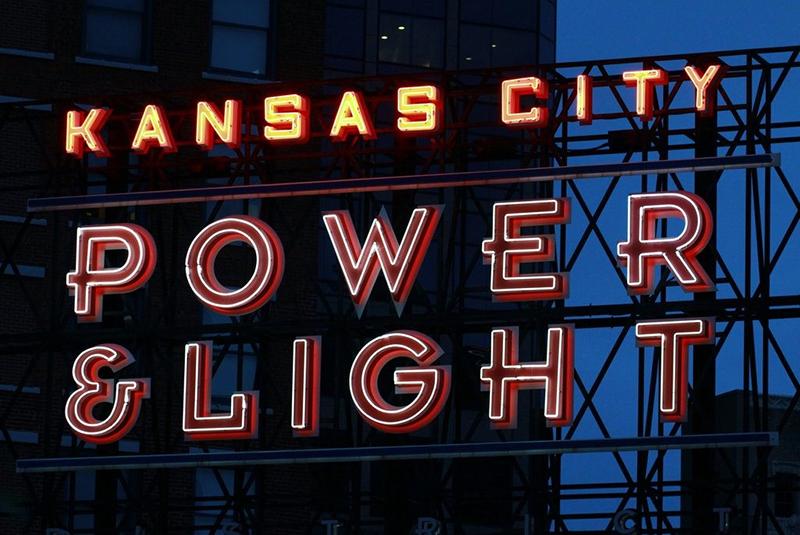 Letreiro Luminoso Kansas City