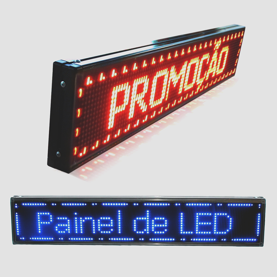 letreiro digital led
